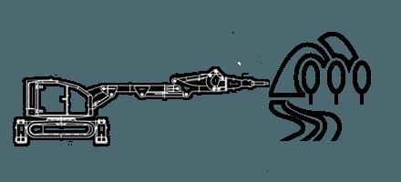 Подземное и земляное строительство c помощью робота