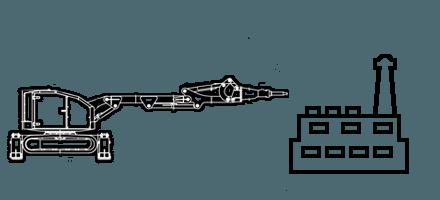 Ремонт и реконструкция цеха, производства c помощью робота