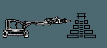 Строительство подземных сооружений c помощью робота