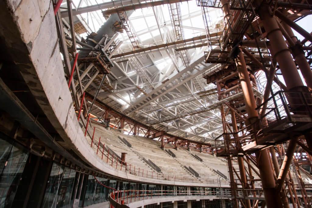 Демонтаж металлоконструкций в Птичное сдать рельсы металлолом